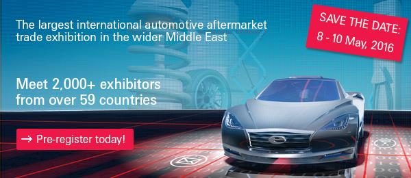 Automechanika Dubai 2016 trade show